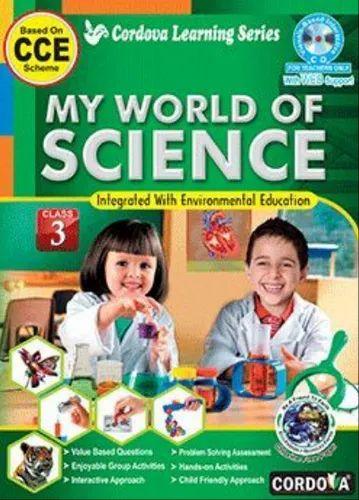 Class-3 Books - My World Of Science Book Class 3 Service