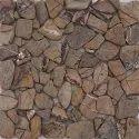 Capstona  Stone Mosaics Brown Pebbles Tiles