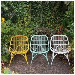 pastel garden chairs