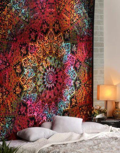 rajasthani kantha work bedspread 500x500