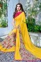Georgette Indian Printed Saree