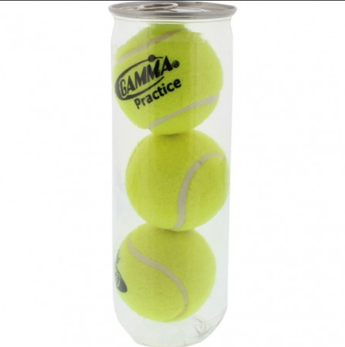the latest 3f3c1 4a53a Adidas Tennis Ball Gamma Pro Practice