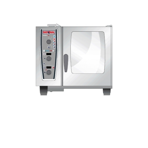 Rational Plus 62 Electric (6x2/1-12x1/1 GN) 971 mm Combi Master Oven