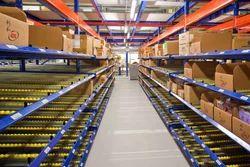 Carton Live Storage System