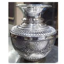 Metallic Silver Kalash