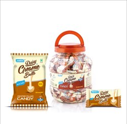 Ambic Dairy Cream Center Filled Candy, Packaging Size: 100 Piece In Packet, Packaging Type: Packet