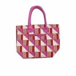 Earthsave Canvas Ladies Designer Handbags, Size: 17.5 W *13h *5 D