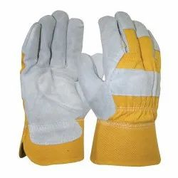 Leather Safet Gloves