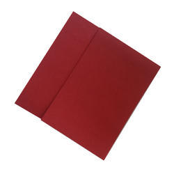 Red Red Fiber Sheet, 5mm