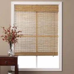 Bamboo Roman Blind