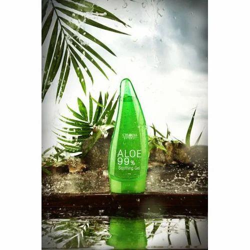 Chloris Natural Aloe Vera Gel 99% Soothing Gel, Pack Size: 125gm