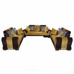 7 Seater Suede Sofa Set