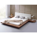 Low Poster Wooden Bed