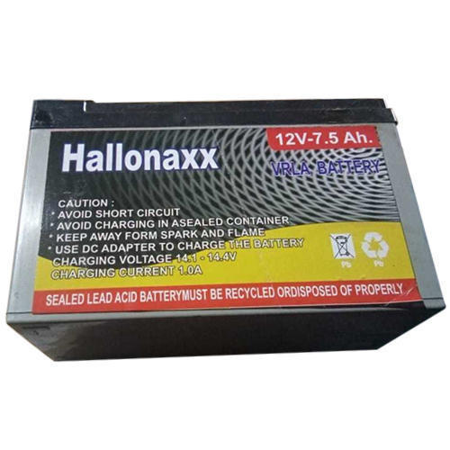 Hallona Ups Battery Capacity 7 5 Ah