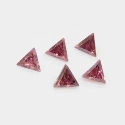 Cubic Zirconia Color Triangle