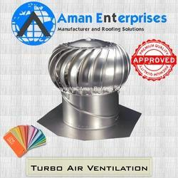 Aluminum Base Turbo Ventilator Fan