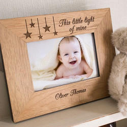 Photo Frame wooden engrave