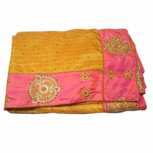 Ladies Designer Dupion Silk Saree