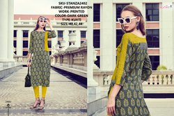 Rachna Premium Rayon Printed Catalog Kurti For Women 2
