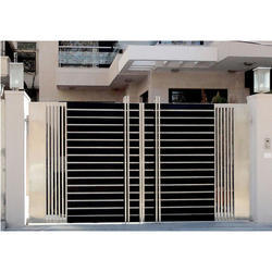 Stainless Steel Main Gate Fabrication Services
