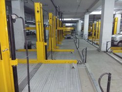 Hydraulic Lift Two Post Car Parking System