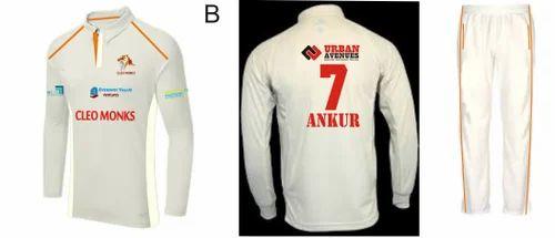 Cricket T Shirt - Cricket Tournament Jersey Manufacturer from Delhi