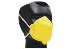 Free Size Yellow Dust Mask