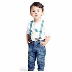 Dobby Casual Wear Organic Kids Jeans