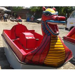 Dragon Pedal Boat 6 Seater (Ready Stock)