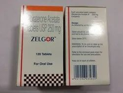Abiraterone Acetate 250mg Tablets