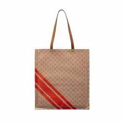 Brown Handle Cloth Carry Bag