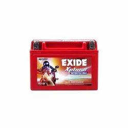 Exide Xplore XLTZ9 Motorcycle Battery, Capacity: 8 Ah, Dimension: 150 X 87 X 105 Mm