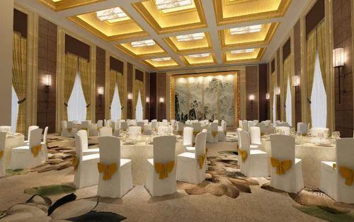 Banquet Hall Interior 3d Marriage Hall Interior Design
