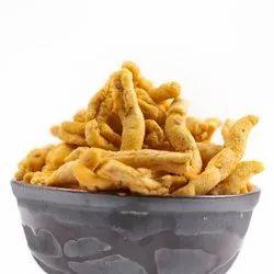 Chandra Vilas Garlic, Besan and Seasonings Garlic Sev Namkeen, Packaging Type: Bag, Packaging Size: Loose
