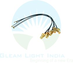 Sma Female To Ipx Ipex Ufl  Pigtail Antenna Extension Cable