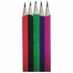 Black Velvet Coated Polymer Pencils, For School,Office