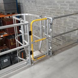 Adjustable Industrial Safety Gate