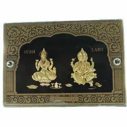 Lakshmi Ganesh Statue Frame