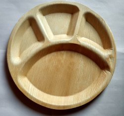 12 Inch 4CP Areca Plate