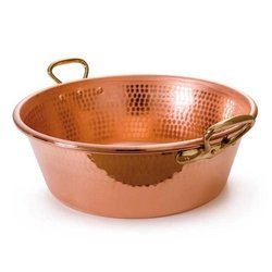 Copper Jam Pan with Bronze Handles NJO-1641