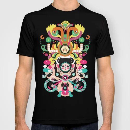 334dd471 Customize T Shirt Printing Service in Indore, Shri Maruti Colour ...