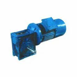 Three Phase 180 RPM Worm Geared Brake Motor