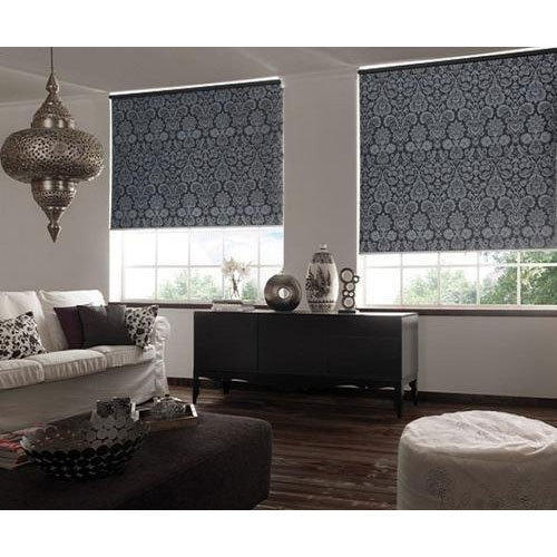 Pvc Living Room Printed Roller Blinds Rs 300 Square Feet Decor Direct Id 19744158073