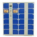 Stainless Steel Barcode Locker