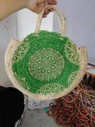 Handmade Export Quality Jute Bag Eco Friendly Tote Open-Top Handle