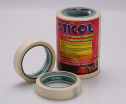 Sticol crime and paper masking tape , for Binding and Sealing