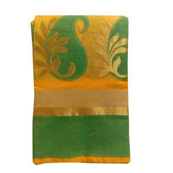 Party Wear Printed Cotton Saree