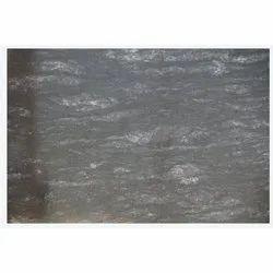 Galaxy Black Granite Slab, Thickness: 18 mm