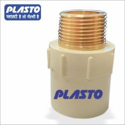 CPVC Brass Male Threaded Adapter