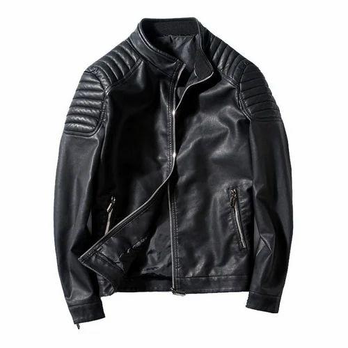 Men's Designer Leather Jacket at Rs 3300 /piece | Men Leather ...